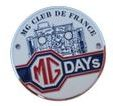 Badge de calandre MG DAYs 2