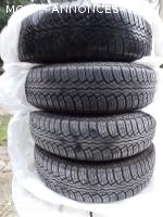 4 pneus 165/15