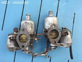 Carburateurs MG A