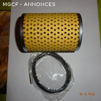 Filtres à huile papier MG TC/TD/TF