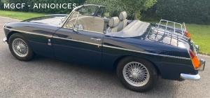 Magnifique MGB 1970 cabriolet dans un excellent état