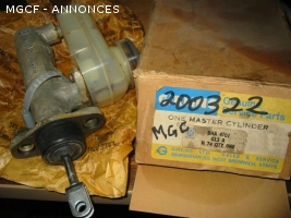 Maitre cylindre MGC