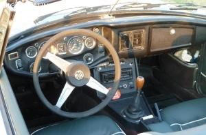 MGB cabriolet 1974