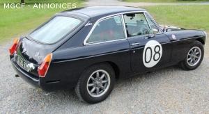 MGB GT 1980 - conduite à droite
