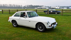 MGB GT V8 authentique