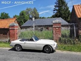 MGB MK1 1965 - Cabriolet - collection - Très bon état