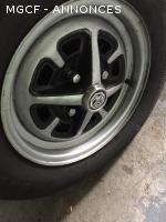 Roues Roystyle avec pneus
