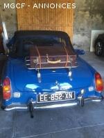 Vends Mgb cabriolet 1972 parfait etat