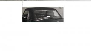 VENTE HARD TOP NOIR ET SUPPORT STOCKAGE POUR MGB 1972